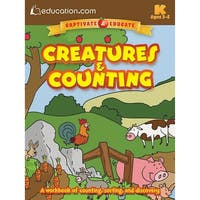 Dover Publications-Creatures & Counting