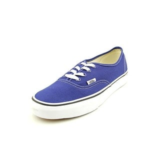 Vans Authentic  Men  Round Toe Canvas Blue Sneakers