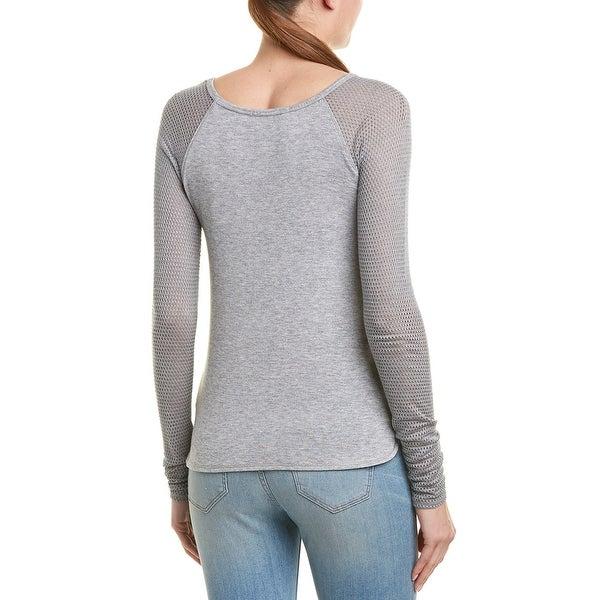 Xs Grey Bailey 44 Womens Skeleton Wool-Blend Sweater