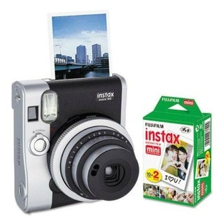 Fujifilm Instax Mini 90 Neo Classic Camera Bundle Instax Mini 90 Neo Classic Camera Bundle