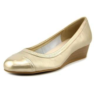 Cole Haan Elsie Cap.Toe.Wdg.II Women W Open Toe Synthetic Wedge Heel