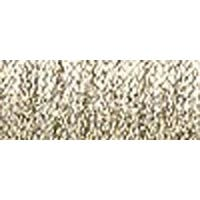 Hi Lustre White Gold - Kreinik Very Fine Metallic Braid #4 12Yd