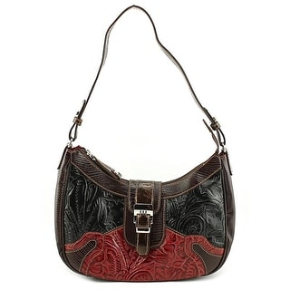 Madi Claire Maggie Women Leather Hobo - Brown