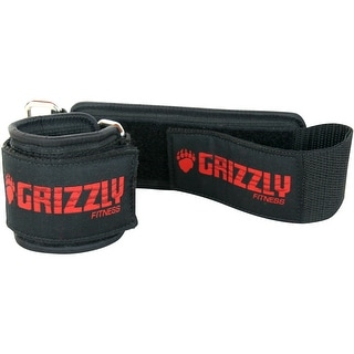 """Grizzly Fitness Weight Lifting 2"""" Wide Supreme Bar Collars - Black"""