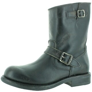 Frye Sutton Engineer Men's Buckle Leather Boots