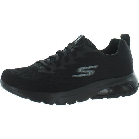 Skechers Mens Go Walk Air Nitro Walking Shoes Exercise Fitness - Black - 7.5 Medium (D)