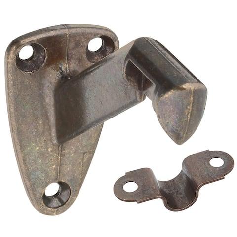 Stanley N830-115 Handrail Bracket, Antique Brass