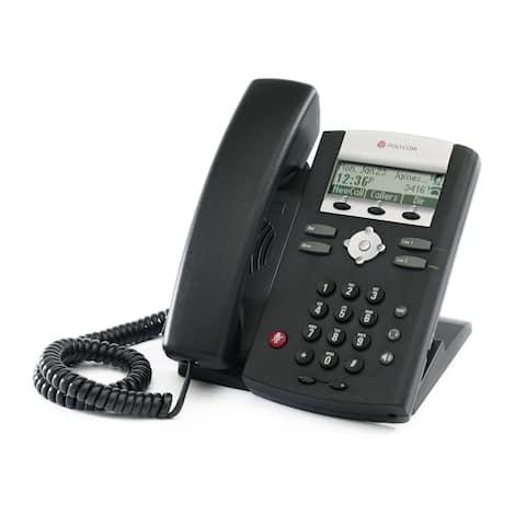Polycom SoundPoint IP 335 POE (2200-12375-025) SoundPoint IP 335 2-Line IP Phone (POE)