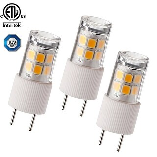 1 PACK/3 PACK 2.3W T4 G8 LED Light Bulb, 30W Bi-Pin Xenon JCD Type Halogen Replacement, 2700K Soft White, 270Lm,Non-dimmable