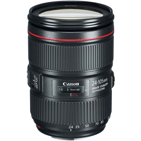 Canon EF 24-105mm f/4L IS II USM Lens (International Model) - black