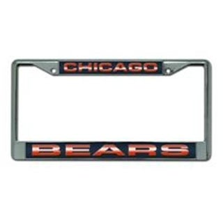 Rico Industries FCL1201 Chicago Bears Chrome Laser License Plate Frame