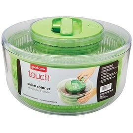Good Cook 20515 Touch Salad Spinner, Green