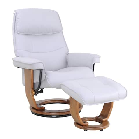 Mikelli Recliner with Ottoman
