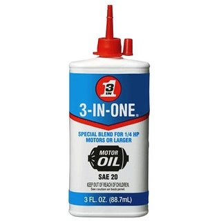 3-IN-One 10145 Electric Motor Oil 3 Oz