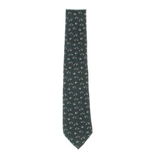 Salvatore Ferragamo Mens Silk Polar Bear Regular Tie - o/s