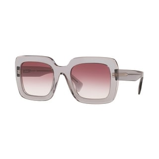 Link to Burberry BE4284F 30288H 52 Transparent Grey Woman Square Sunglasses Similar Items in Women's Sunglasses