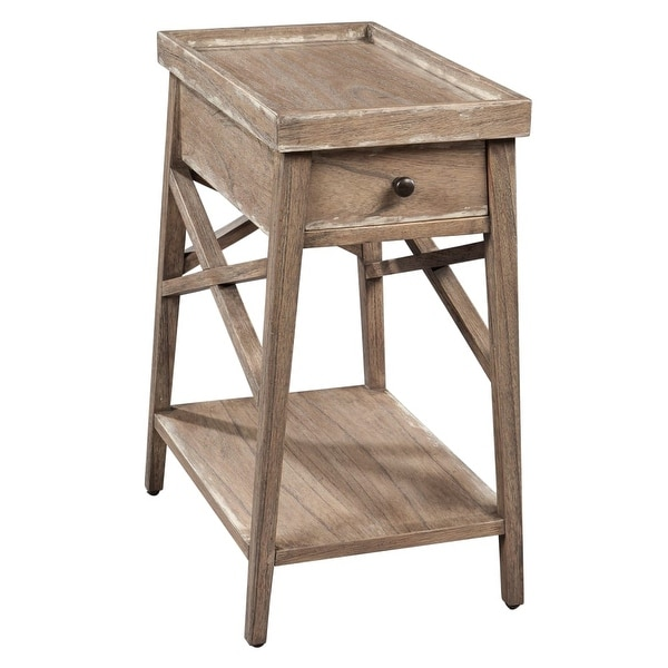 Hekman 27275 14 Inch Wide Wood End Table With Lower Shelf Special Reserve Free Shipping Today 21172017