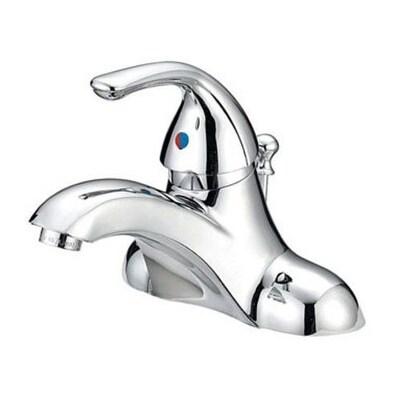 Shop Oakbrook F41b4411cp Aca2 Single Handle Lavatory Faucet With Pop