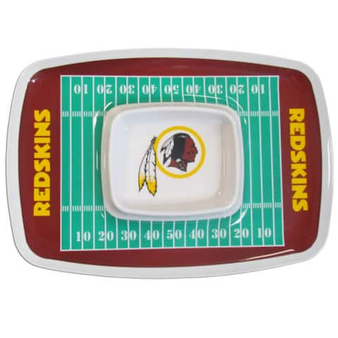 Siskiyou Sports Washington Redskins Chip And Dip Tray Chip and Dip Tray