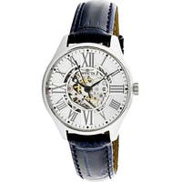 Invicta Men's Vintage  Silver Stainless-Steel Automatic Fashion Watch