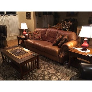 Shop Furniture Of America Nash Mission Style 3 Piece