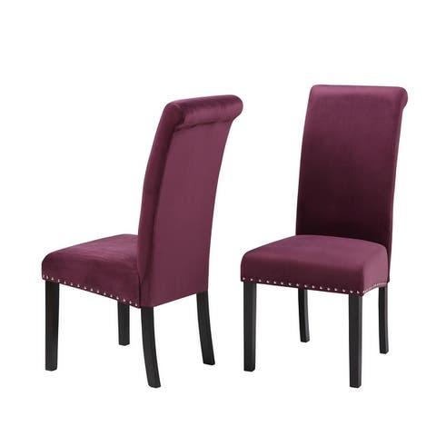 Milan Velvet Dining Chairs