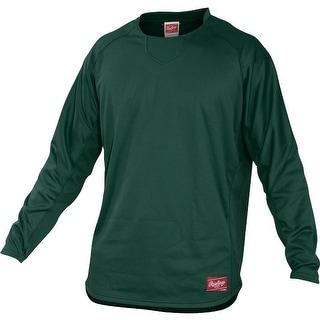 Rawlings Men's Dugout Fleece Pullover (Option: Orange)