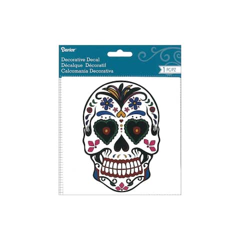 Darice Decal Day Of The Dead Mulit