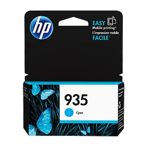 HP 935 Cyan Original Ink Cartridge (C2P20AN) (Single Pack)