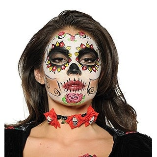 Day of the Dead Adult Costume Choker