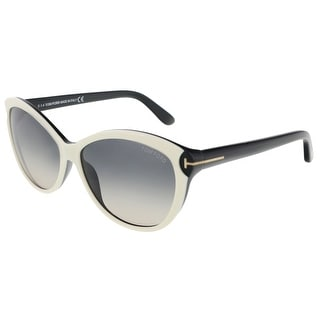Tom Ford FT0325/S 25B Telma Bone Cateye Sunglasses