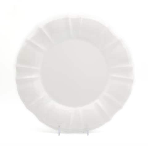 "Euro Ceramica Chloe 11"" Dinner Plates (Set of 4)"