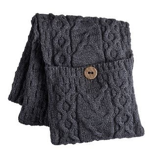 Women's Galway Bay Cable Knit Wool Pocket Scarf - One size|https://ak1.ostkcdn.com/images/products/is/images/direct/daa20bad64e90c6c4c2bf2505cf93bfa66d9261a/Women%27s-Galway-Bay-Cable-Knit-Wool-Pocket-Scarf.jpg?impolicy=medium