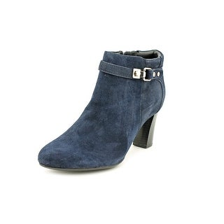 Alfani Dolorna Pointed Toe Suede Ankle Boot