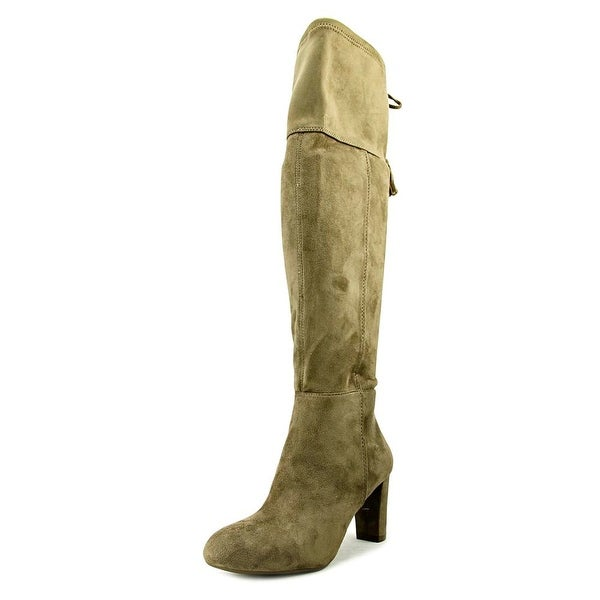 INC International Concepts Haldi Wide Calf Women Warm Taupe Boots