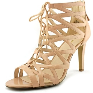 Nine West Authority Open Toe Leather Sandals