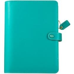 "Jade - Color Crush A5 Faux Leather Planner Kit 7.5""X10"""