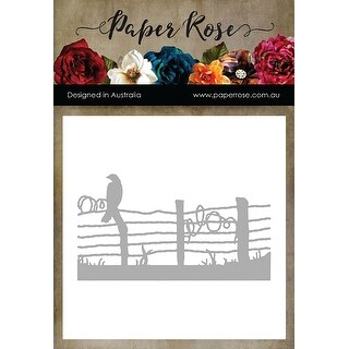 Paper Rose Dies-Bird On Wire Fence