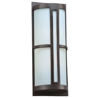 "PLC Lighting 31738 2 Light 8.5"" Wide Outdoor Wall Sconce from the Rox Collection"
