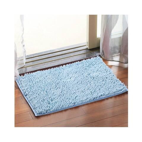 Chezmax Chenille Specific Color Non-slip Indoor Outdoor Hello Doormat Large Small Inside Outside Front Door Mat Carpet Floor Rug