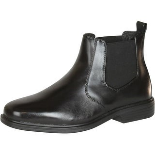 Giorgio Brutini Mens Leather Wide Width Boots - Black