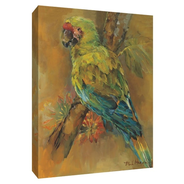 """PTM Images 9-154922 PTM Canvas Collection 10"""" x 8"""" - """"Tropical Bird"""" Giclee Parrots Art Print on Canvas"""