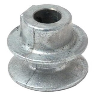 """Chicago Die Casting 150A5 Single V Grooved Pulley, 1-1/2"""" x 1/2"""""""