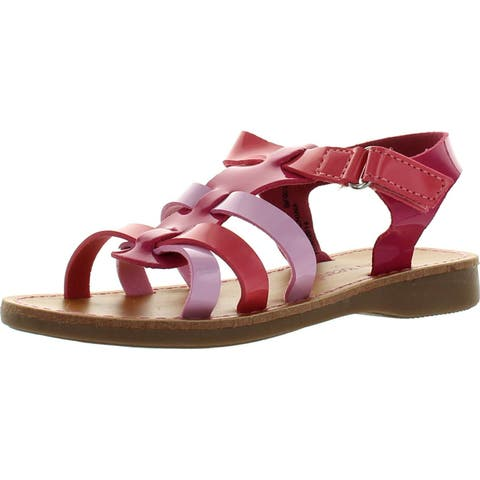 Jelly Beans Pentagon Toddler's Little Girl Comfort Strappy Upper Sandals Shoes