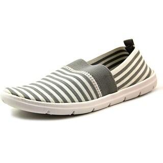 White Mountain Tipton Round Toe Canvas Loafer