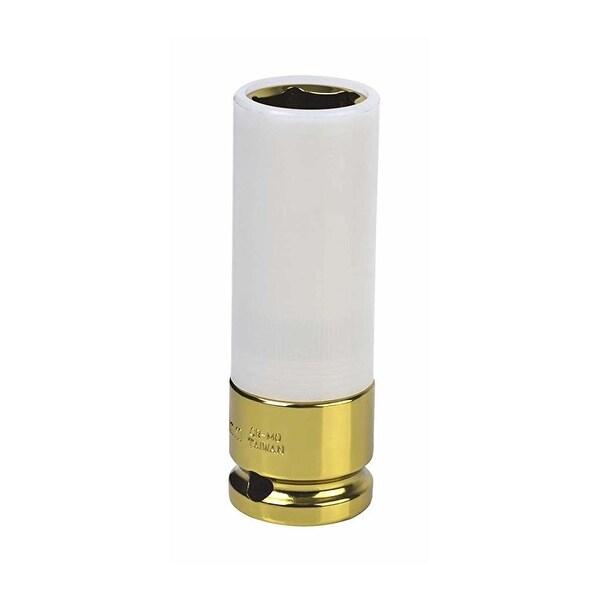 Sunex tools 284919 sunex tools 284919 - 1/2 drive 19mm extra thin wall wheel protector impact socket