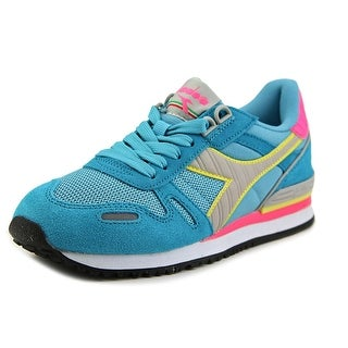Diadora Titan II Women Round Toe Synthetic Blue Sneakers