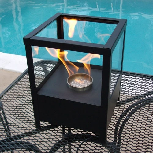 Nu-Flame NF-T2SPO Sparo Tabletop Black Fireplace