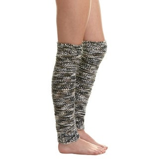 Free People Mix Tape Space Dye Boucle Leg Warmers - One size