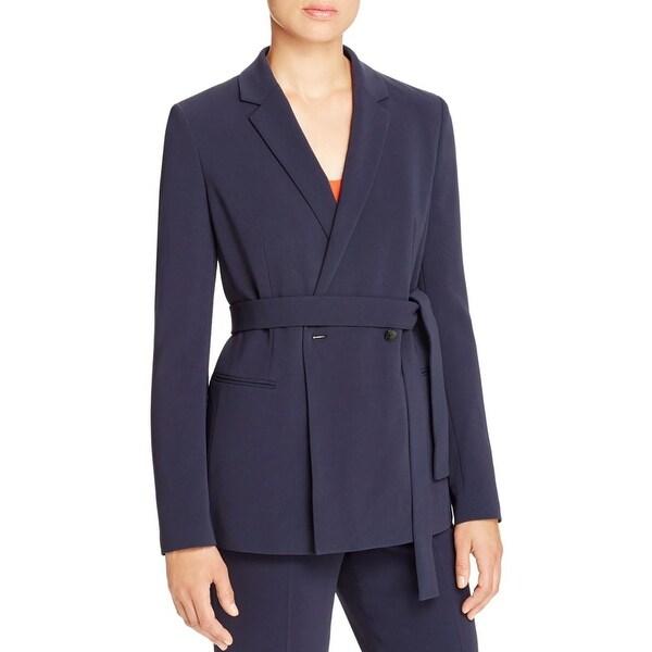 0286ec1db Shop BOSS Hugo Boss Womens Jabilta Blazer Notch Collar Crepe - Free  Shipping Today - Overstock - 17446460